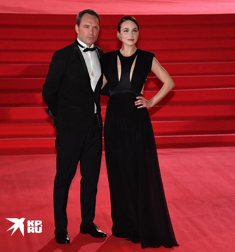 Анна Снаткина с мужем Виктором Васильевым