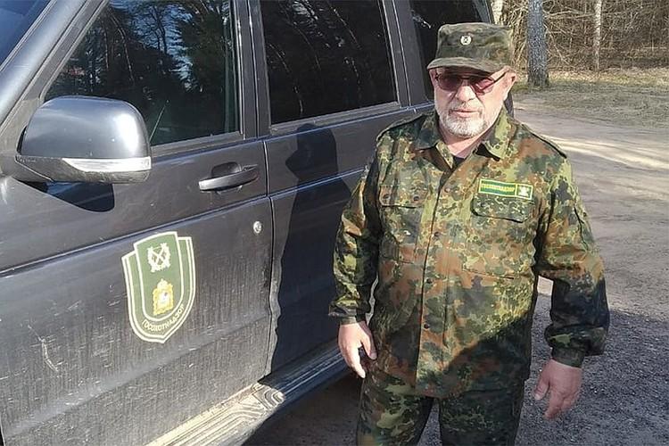 B машине начальника отдела охотничьего надзора Андрея Андрюкова (на фото) нашли тушку косули с огнестрельным ранением.