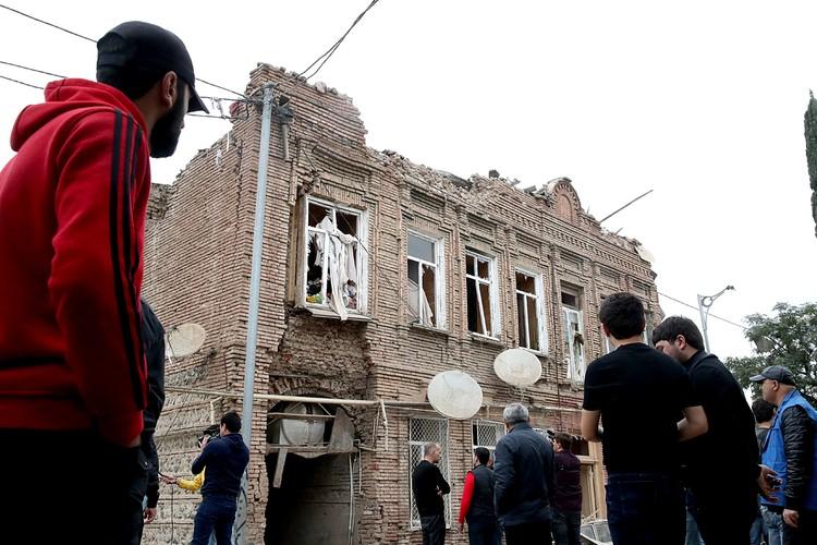 Азербайджан сообщил о гибели мирного жителя в результате обстрела Гянджа. Фото: Валерий Шарифулин/ТАСС