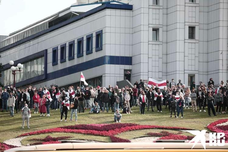 Очередное воскресное шествие было заявлено как марш освобождения политзаключённых. Фото: Иван Иванов