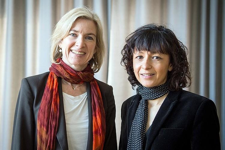 Эммануэль Шарпентье и Дженифер Дудна - женщины, получившие Нобелевскую премию по химии за 2020 год. Это они изобрели генетические ножницы