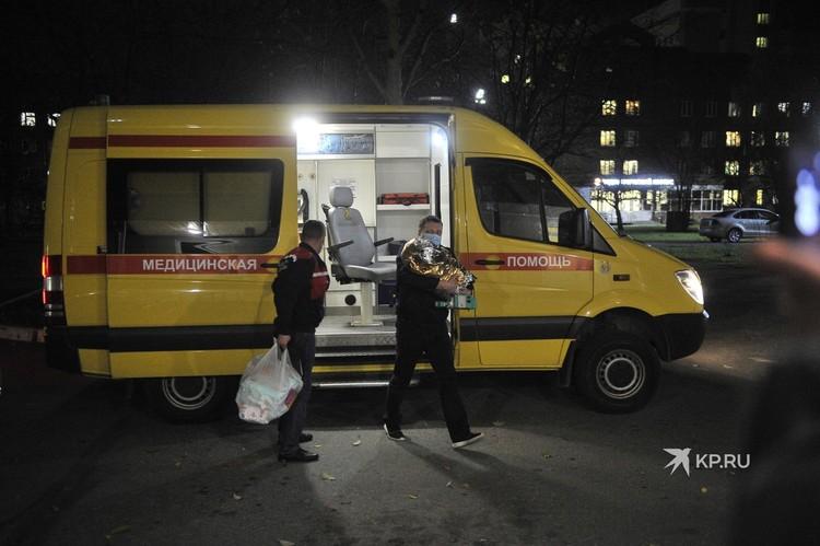 Малышку привезли из больницы Краснотурьинска