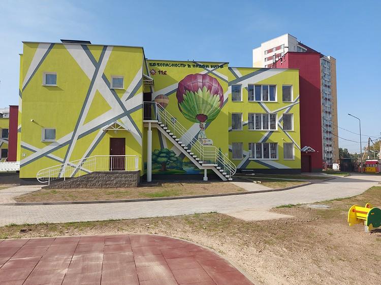 К 7 ноября откроет двери новый детский сад с бассейном по ул. Михаловской.