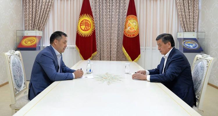 Президент объяснил свою позицию на встрече с утвержденным парламентом премьер-министром Садыром Жапаровым.