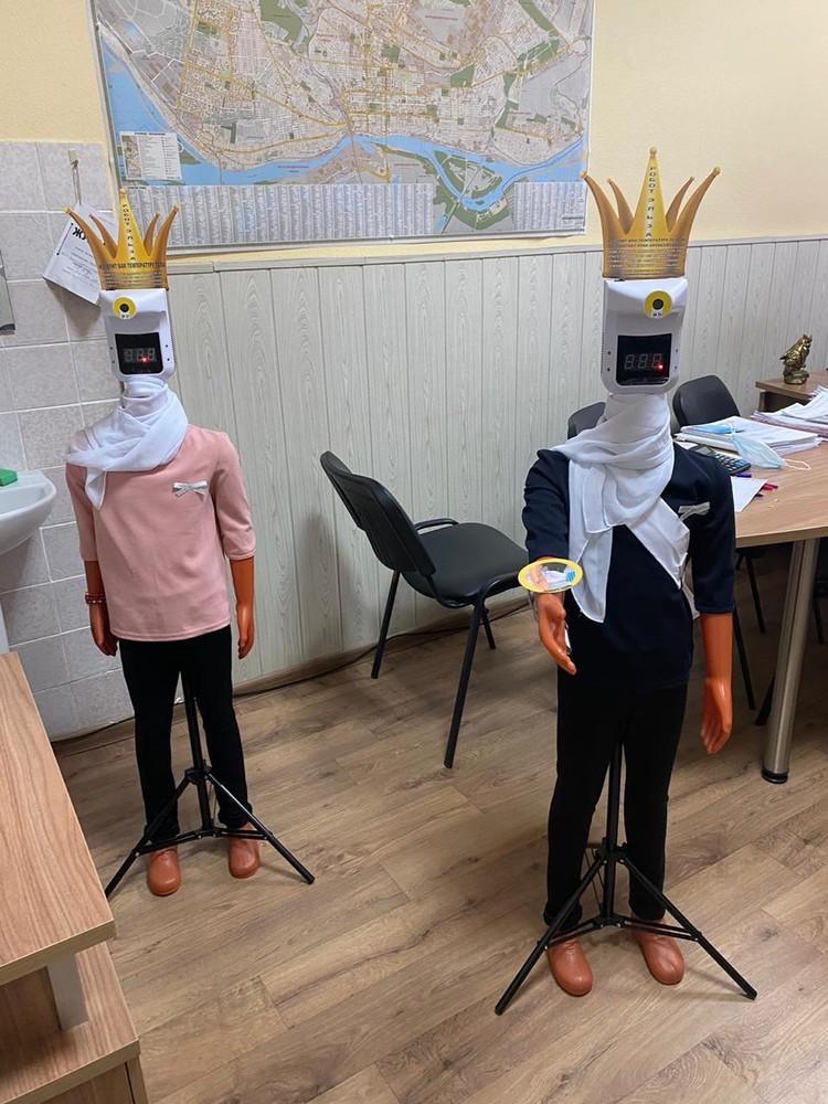 Дети в восторге от этих роботов. Фото: из архива героя публикации