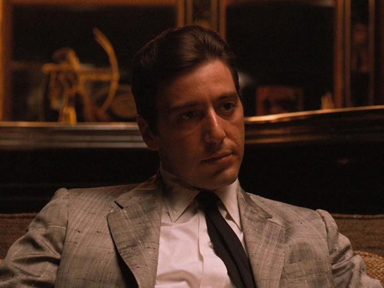 Аль Пачино в роли младшего сына Дона Корлеоне