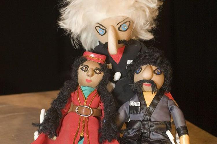 Театр кукол «Сказ» открывает новый театральный сезон спектаклем для взрослых «Демон». Фото: Екатерина БАХАРЕВА