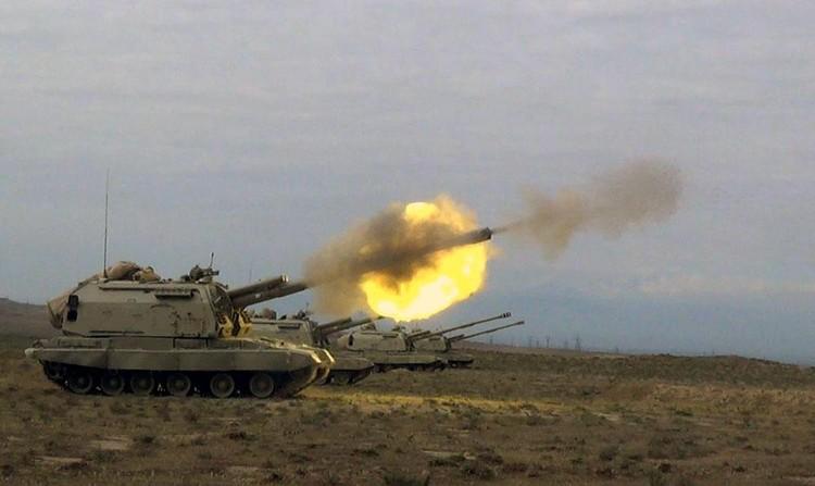 В ходе вооруженного конфликта стороны начали применять танки и артиллерию. Фото: предоставлено консульством республики Азербайджан в Екатеринбурге