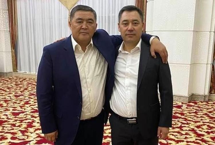 Указ о назначении Ташиева на должность председателя ГКНБ Садыр Жапаров подписал сегодня.