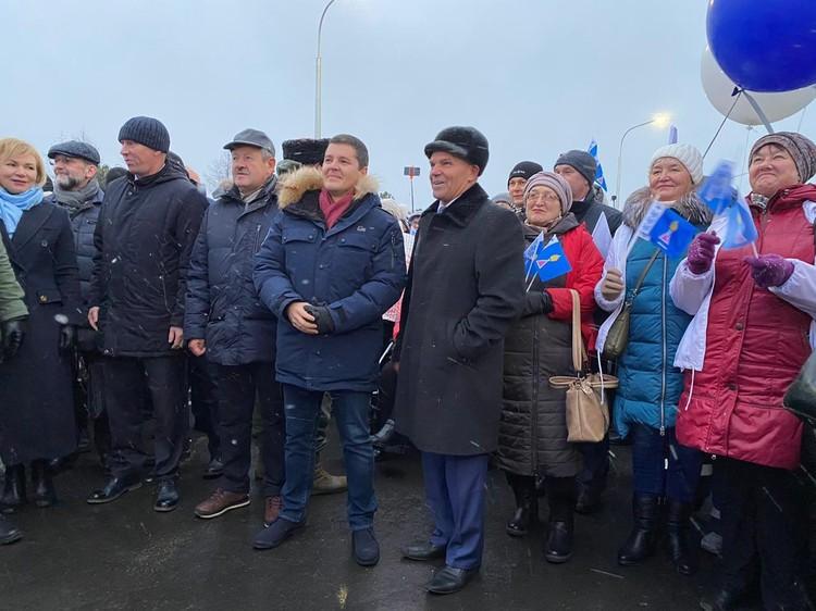 На Ямале открыт автомобильный мост через реку Пур, построенный при содействии ПАО «Транснефть»