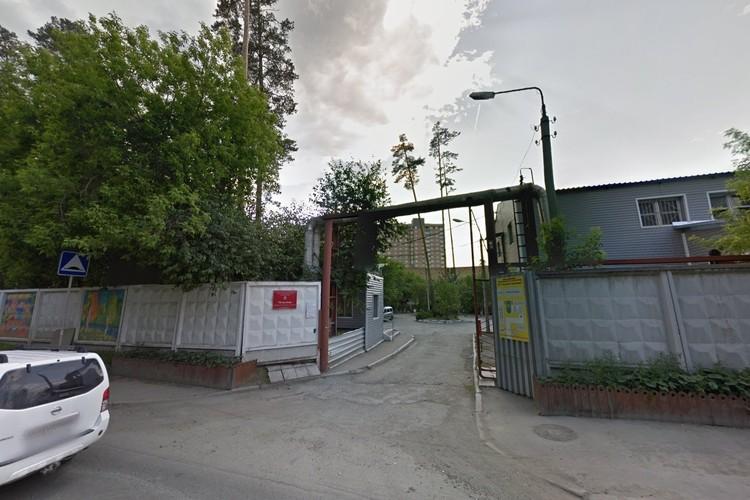 Так выглядит заезд в «Уктусский пансионат» Фото: google.ru/maps