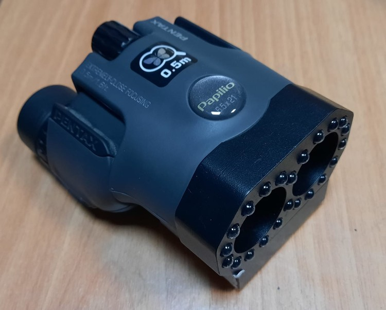 Прибор для поиска скрытых камер Оптик-2. Фото: ГСУ СК по Московской области