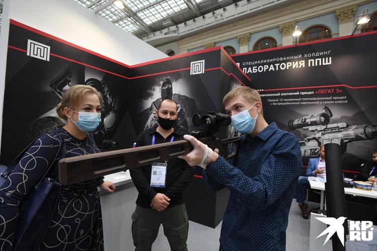 Столько оружия в одном месте можно увидеть разве что в фильмах Тарантино.