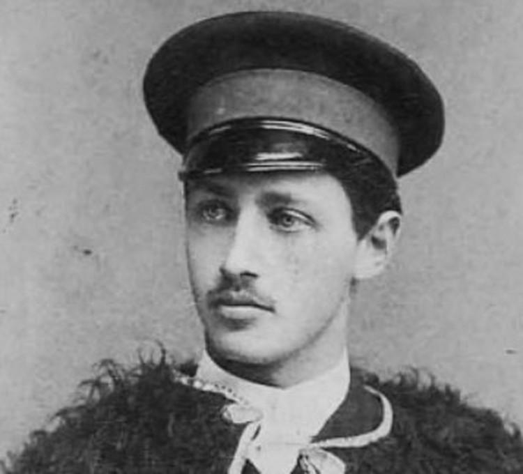 Писатель в 1891 году, на снимке ему чуть за двадцать.