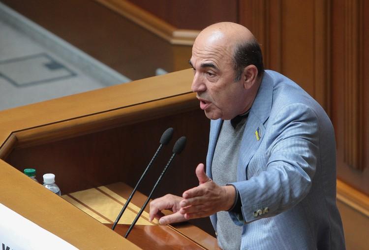 Депутат Верховной Рады Вадим Рабинович.