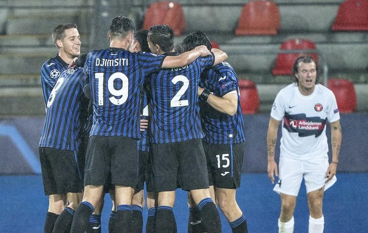 Выйдя на замену на 80-й минуте матча против датского «Мидтьюлланна», Алексей на 88-й минуте великолепным ударом в верхний угол в обвод вратаря забил свой первый гол за «Аталанту».