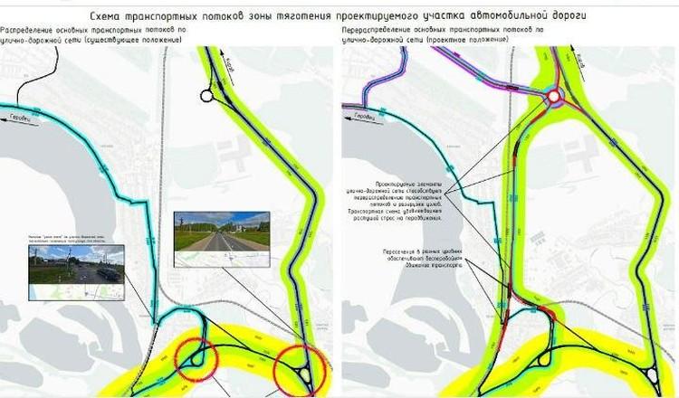 Схема движения Неклюдово-Золотово