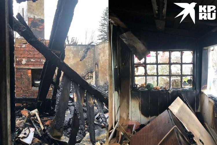 Все документы и вещи сгорели вместе с домом. Фото: предоставлено Отиа Сулава