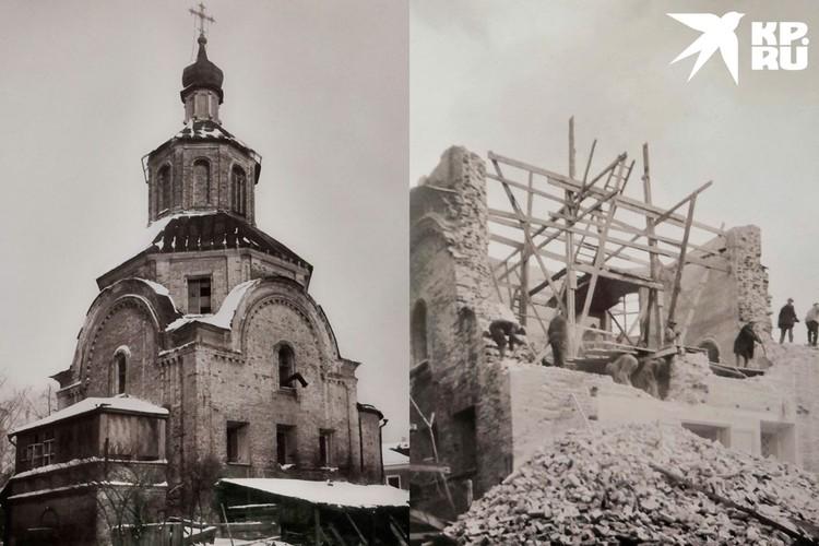 Храм, в основании которого была усыпальница Апраксиных был разобран в 30-е. Фото: архив Центра изучения наследия Златоустовского монастыря