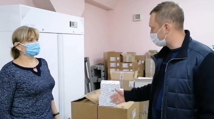 Роман Бусаргин узнал о поставках «Коронавира»