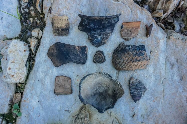 Древние артефакты найденные Максимом на одном из амурских островов