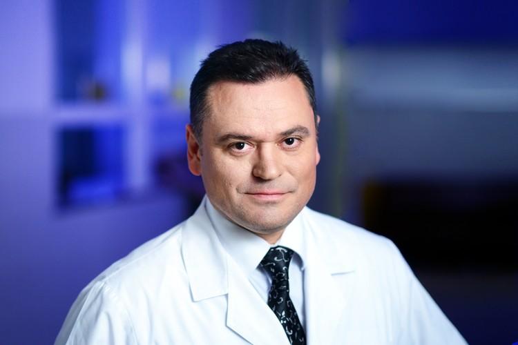 Онколог Александр Лисутин. Фото: Национальный медицинский исследовательский центр онкологии.