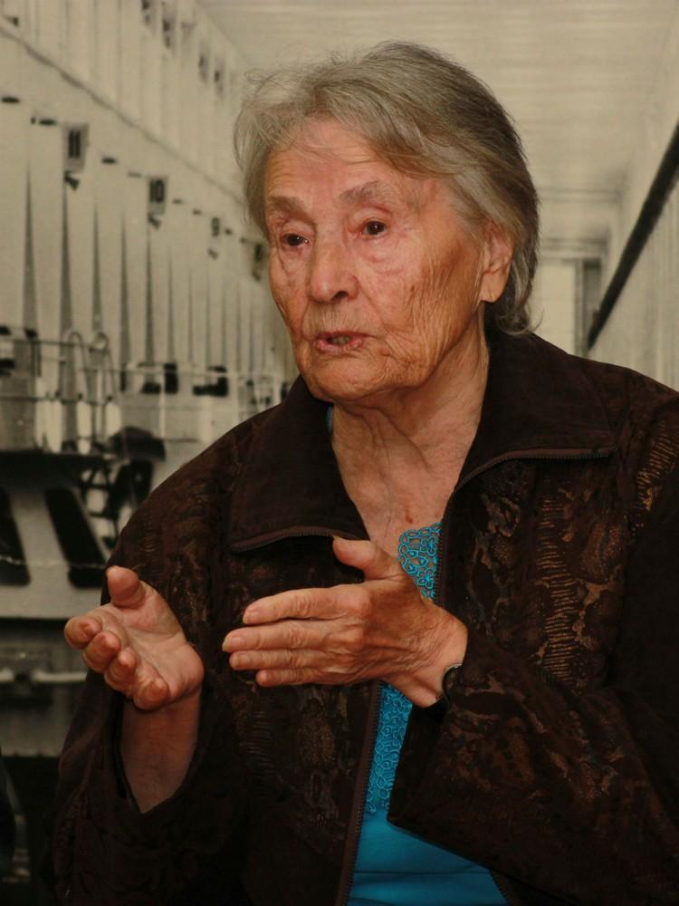 Валентина Сальникова. Фото пресс-службы администрации Братска.