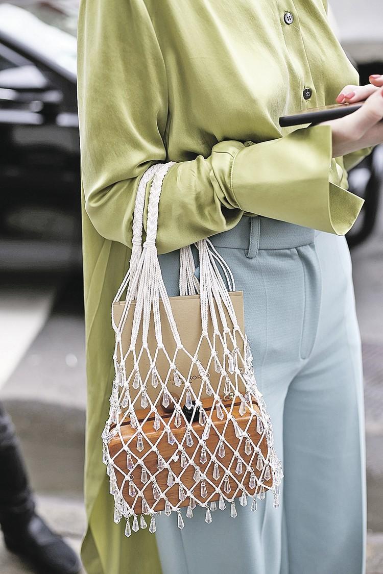 Французский бренд Vetments выпустили авоську стоимостью 200 тысяч рублей. Фото: Valentina RANIERI/Global Look Press