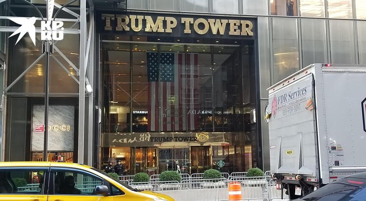 Trump Tower демонстрирует свой блеск, как и раньше
