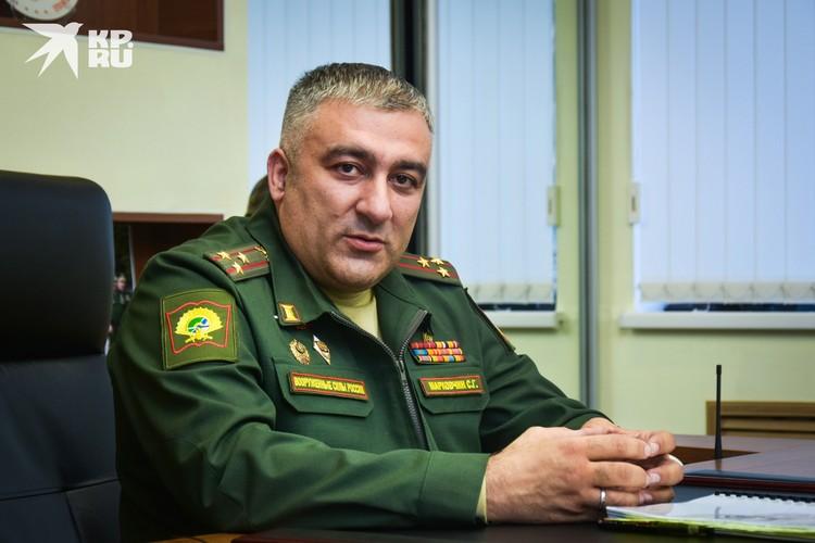 Начальник НВВКУ Сергей Марковчин говорит, что главное в разведке — не только выполнить задачу, но и вернуться живым.