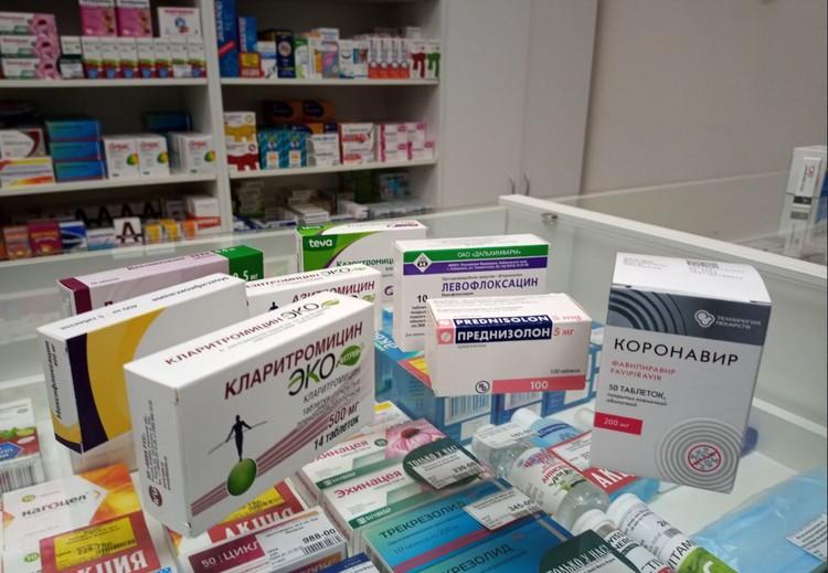 Эти препараты можно купить лишь по рецепту, поэтому их хранят под прилавком.