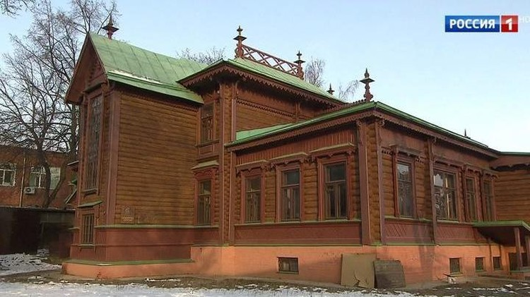 Усадьба Крумгина в подмосковных Люберцах. Фото: Россия 1