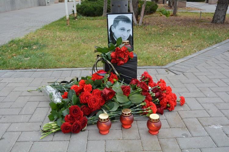 Романа Гребенюка похоронили 4 ноября.