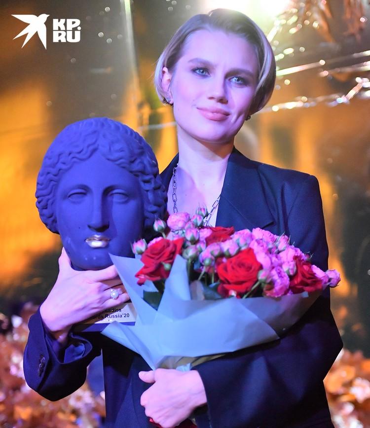 Актриса Дарья Мельникова.