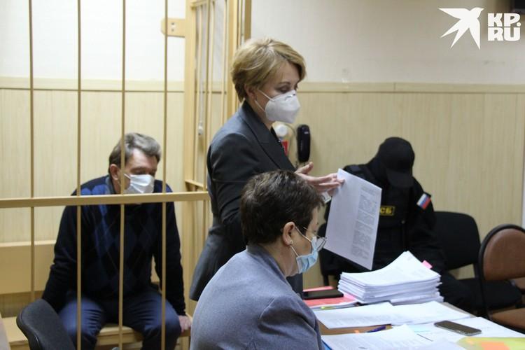 В суде жены мэра не было. Фото: пресс-служба Томского областного суда.