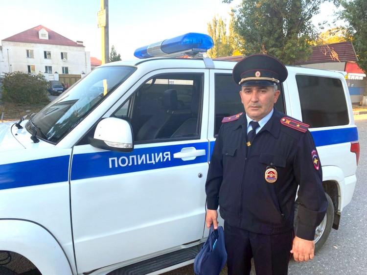 Второе место занял участковый уполномоченный по городу Аргун Чеченской Республики майор полиции Аюб-Хан Хасбулатов