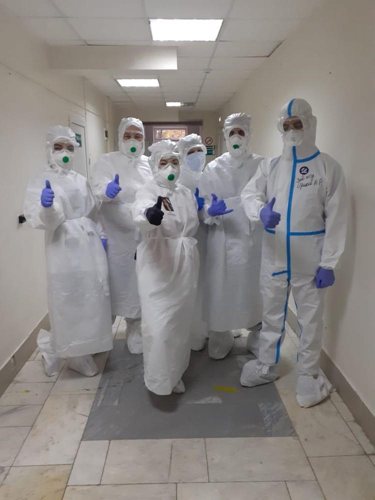 В «красной зоне» пятигорской больницы ни один врач не заразился COVID-19