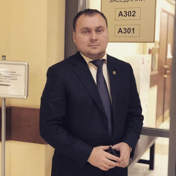 Новый адвокат Ефремова Андрей Алешкин.