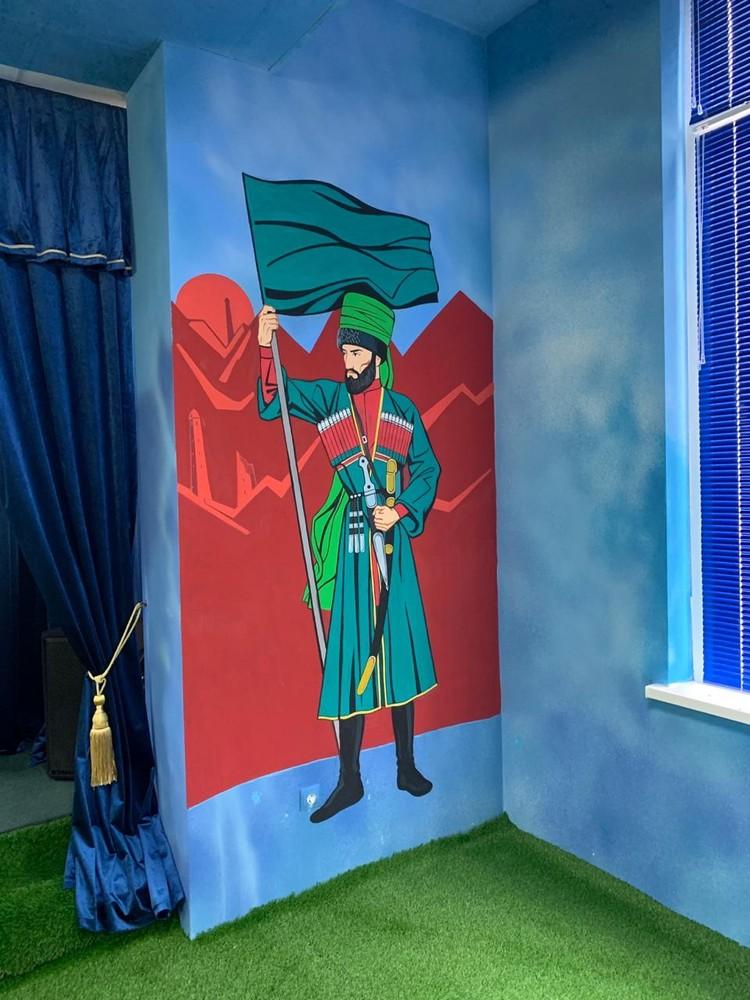 Шейх Мансур. Фото: пресс-служба главы Чечни