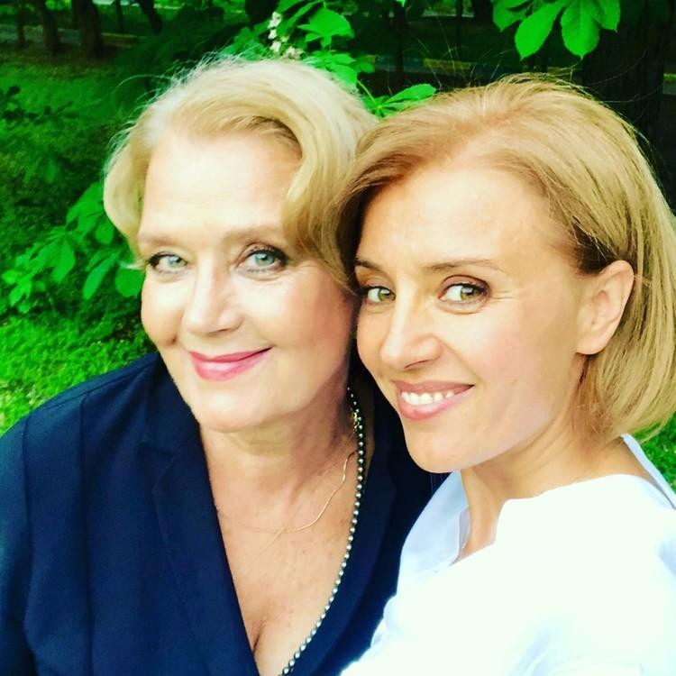 Ксения Алферова и ее мама Ирина