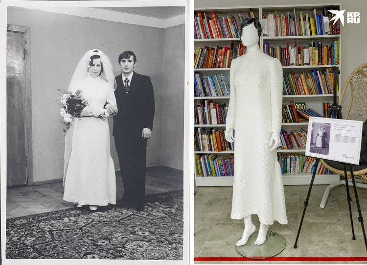 Платье Валентины Данилиной.