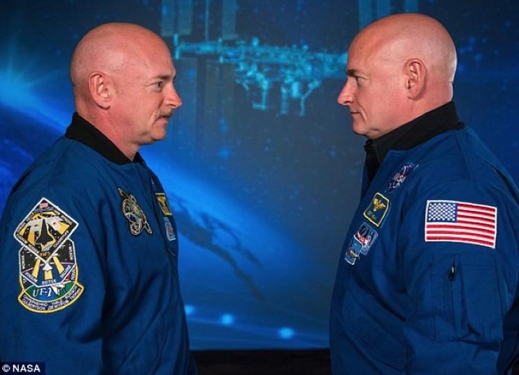 Братья Келли - у того, что побывал в космосе удлинились теломеры.