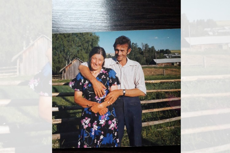 Николай со второй женой Милой. Фото из личного архива