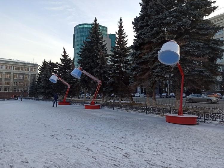 Новые арт-объекты появятся в городе к Новому году.