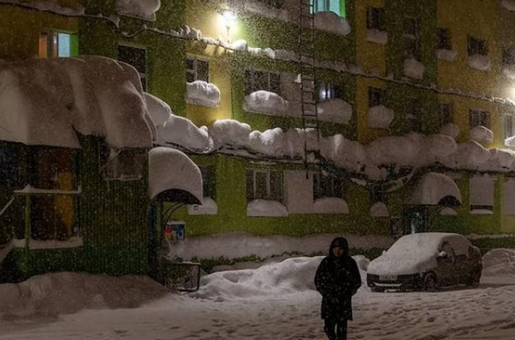Снег идет, идет и идет Фото: instagram.com