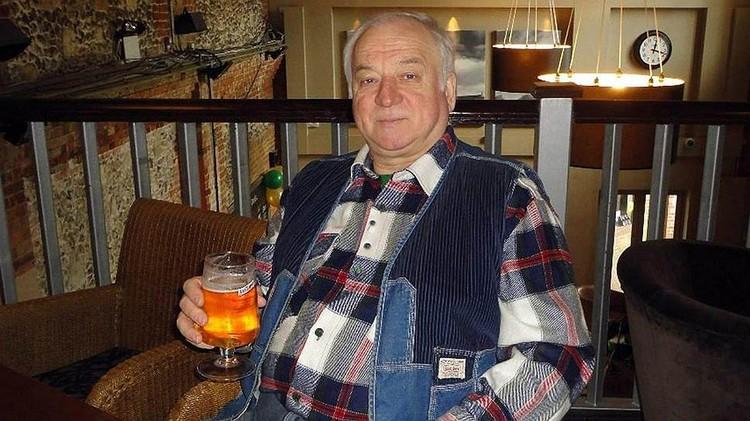 Экс-сотрудник ГРУ Сергей Скрипаль.