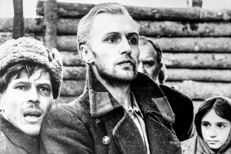 """Борис Плотников в фильме """"Восхождение"""", 1976 г."""