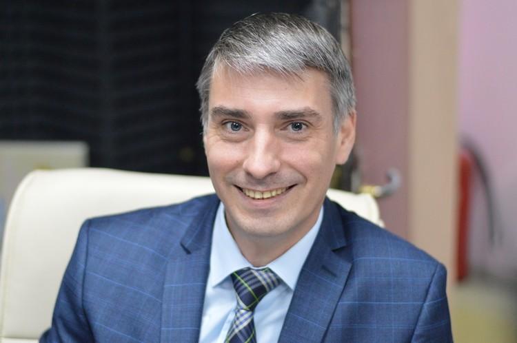 Александр Еремеев, начальник отдела среднего профессионального образования минобрнауки края