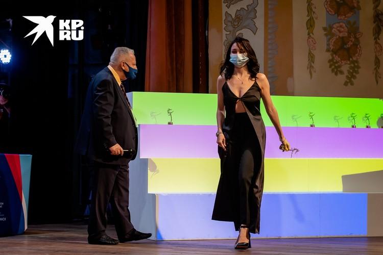 Елизавета Туктамышева сразила своим нарядом
