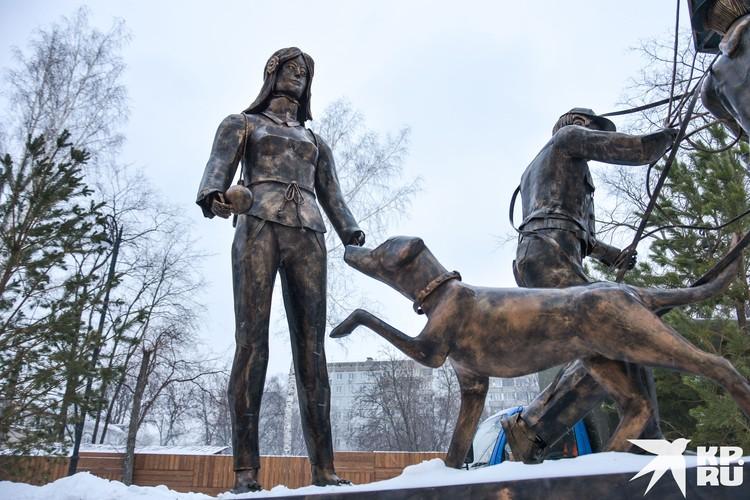 Новосибирская Аленка находится на улице Богаткова.